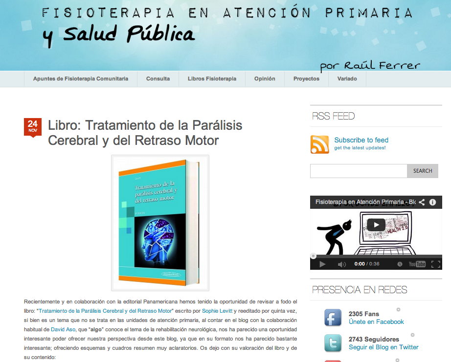 Blog fisioterapia en atencion primaria