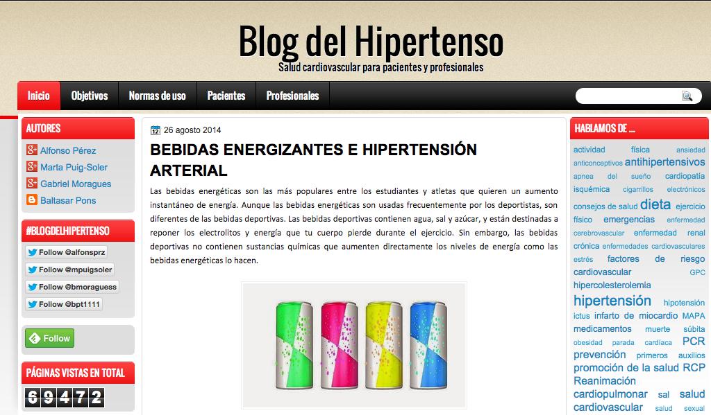 El blog del hipertenso