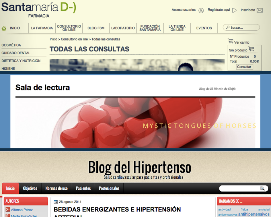 Blogs de farmacia
