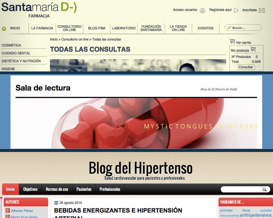 Utilidades del blog para una farmacia