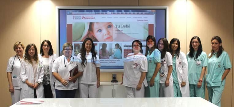 enfermeras paritorios online