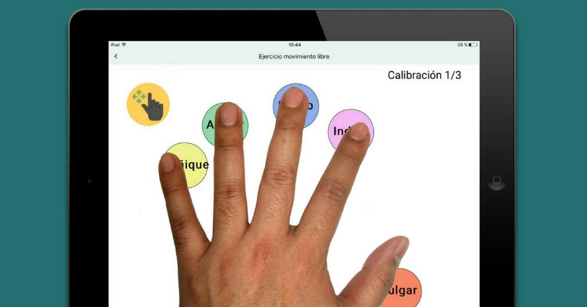 Rehand: una app de ayuda a la rehabilitación física de la mano