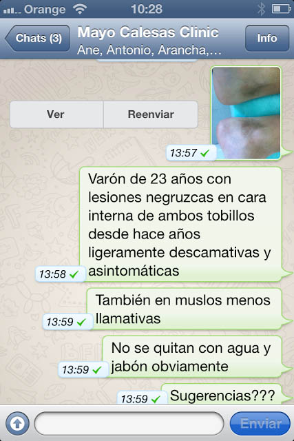 medicos whatsapp