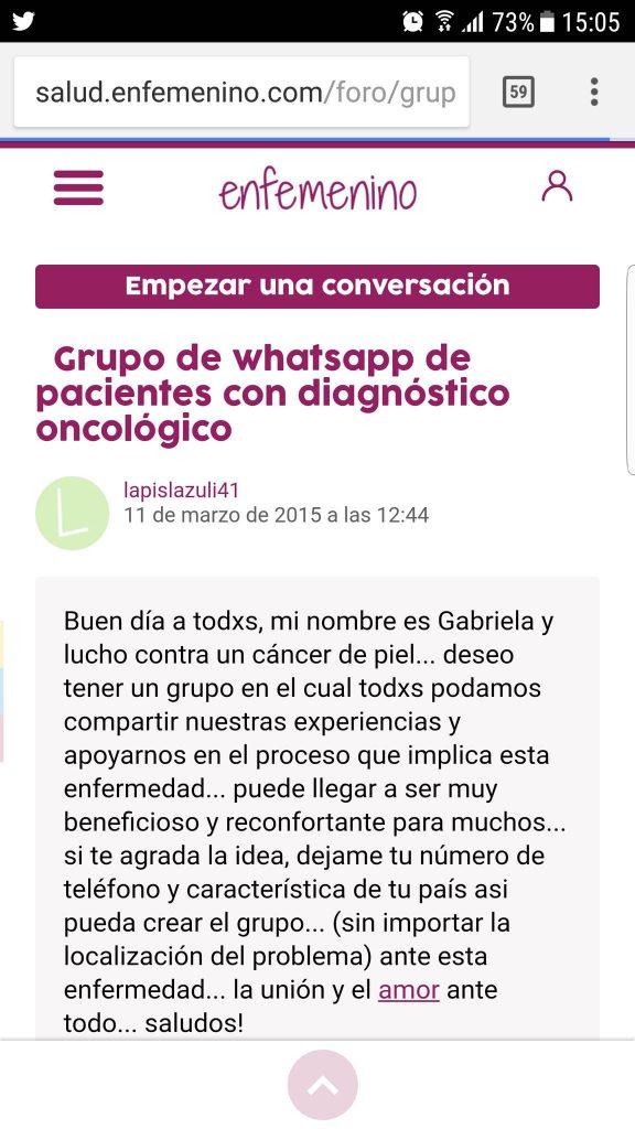 whatsapp enfemenino