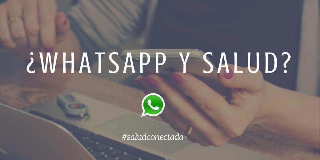 whatsapp salud