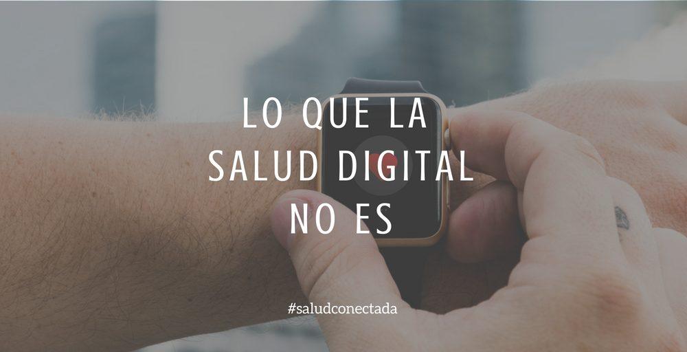 salud digital no es